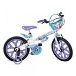 Ficha técnica e caractérísticas do produto Bicicleta Frozen Disney Aro 16 - Bandeirante - Bandeirantes