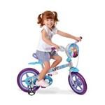 Ficha técnica e caractérísticas do produto Bicicleta Infantil Aro 12 Bandeirante Frozen Disney