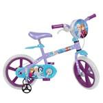 Ficha técnica e caractérísticas do produto Bicicleta Infantil Aro 14 Frozen Disney Bandeirante