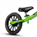 Ficha técnica e caractérísticas do produto Bicicleta Infantil Balance Bike Verde - Nathor