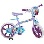 Ficha técnica e caractérísticas do produto Bicicleta Infantil Bandeirante Frozen Disney Aro 14