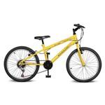 Bicicleta Kyklos Aro 20 Move 7V Amarelo