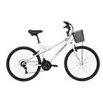 Bicicleta Mobilidade Caloi Ventura Aro 26 21 Veloc. Branco