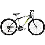 Bicicleta Mormaii Aro 26 Alumínio B-Range 21 Marchas Preta / Verde