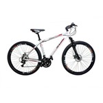 Bicicleta Rino Câmbios Shimano Aro 29 Freio a Disco 21v - Quadro 15 - Branca