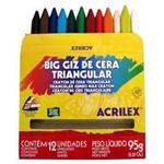 Big Giz de Cera Triangular Acrilex