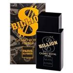 Ficha técnica e caractérísticas do produto Billion Casino Royal Eau de Toilette Paris Elysees - Perfume Masculino 100ml