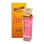 Ficha técnica e caractérísticas do produto Billion Woman Love Eau de Toilette Paris Elysees Perfume Feminino - 100ml