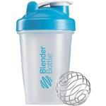 Ficha técnica e caractérísticas do produto Blender Bottle Classic Azul Aqua 20oz - 590ml