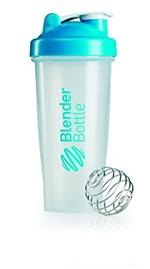 Ficha técnica e caractérísticas do produto Blender Classic - Blender Bottle - 830ml - Azul Aqua
