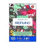 Bloco de Desenho Liso Fabriano A4 120g 30 Folhas