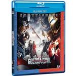 Ficha técnica e caractérísticas do produto Blu-ray 3D Capitão América: Guerra Civil