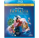 Blu-Ray Fantasia + Fantasia 2000 (2 Bds)