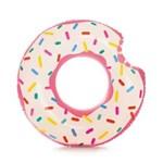 Ficha técnica e caractérísticas do produto Boia Donut Branca e Rosa 56265 Intex