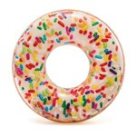 Ficha técnica e caractérísticas do produto Boia Donut Chocolate Branco e Granulado 56263 Intex