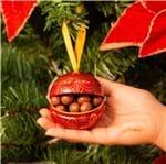 Ficha técnica e caractérísticas do produto Bola de Natal com Dragées de Chocolate ao Leite