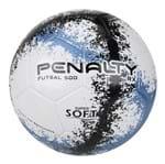Ficha técnica e caractérísticas do produto Bola Futsal Penalty 500 RX R3 Fusion VIII - Branco e Azul