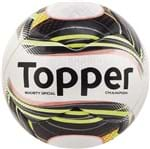 Bola Topper Champion Society Branco/Preto - U