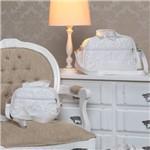 Ficha técnica e caractérísticas do produto Bolsas Maternidade Glamour Branco Kit 2 Peças