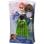 Ficha técnica e caractérísticas do produto Boneca Anna Frozen Musical CMK70 Mattel