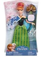 Ficha técnica e caractérísticas do produto Boneca Anna Musical Frozen CMK70 - Mattel