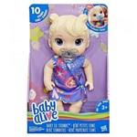 Ficha técnica e caractérísticas do produto Boneca Baby Alive Bebê Primeiros Sons Loira Hasbro E3690