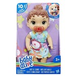 Ficha técnica e caractérísticas do produto Boneca Baby Alive Bebê Primeiros Sons Morena E3688 - Hasbro