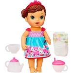 Boneca Baby Alive Hora do Chá Morena - Hasbro