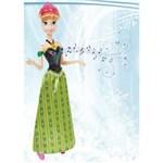 Ficha técnica e caractérísticas do produto Boneca Disney Frozen Anna Musical Mattel