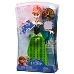 Ficha técnica e caractérísticas do produto Boneca - Disney Frozen - Anna Musical - Mattel
