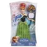 Ficha técnica e caractérísticas do produto Boneca Mattel Anna Musical Frozen CMK70