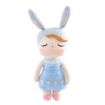 Ficha técnica e caractérísticas do produto Mini Boneca Angela Jardineira Azul - Metoo