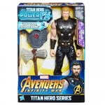 Ficha técnica e caractérísticas do produto Boneco Avengers Figura 12 Power Pack FX Thor - E0616 - Hasbro