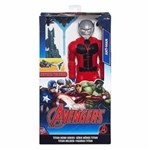 Ficha técnica e caractérísticas do produto Boneco Avengers Homem Formiga Titan Hero Series - HASBRO - B6148/B5773
