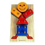 Ficha técnica e caractérísticas do produto Boneco Geométrico - Carimbras - Brinquedo Educativo