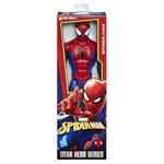 "Ficha técnica e caractérísticas do produto Boneco Homem Aranha 12"" Marvel Hasbro"