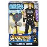Ficha técnica e caractérísticas do produto Boneco Vingadores Hasbro Titan Hero Power FX - Thor
