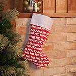 Bota Natalina Ho Ho Ho 43cm - Orb Christmas
