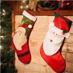 Bota Natalina Papai Noel 48cm - Orb Christmas