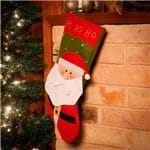 Bota Natalina Papai Noel Tradicional 48cm - Orb Christmas