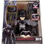 Metals Die Cast Superman X Batman 15 Cm With Armor 3870 Dtc