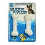 Ficha técnica e caractérísticas do produto Brinquedo Osso Resistente Mordida Cães Nylon Buddy Toys