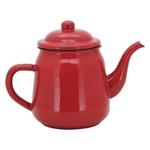 Ficha técnica e caractérísticas do produto Bule Esmaltado Vermelho 14 Cm 1700 Ml