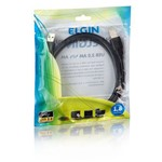 Cabo USB 2.0 Am/am 1,8 Metros Elgin