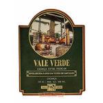 Ficha técnica e caractérísticas do produto Cachaça Vale Verde 160ml