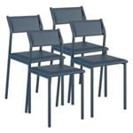 Ficha técnica e caractérísticas do produto Cadeira 1709 Color UV 04 Unidades Carraro