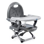 Cadeira de Alimentação Assento Elevatório Pocket Snack Dark Gray (6m+) - Chicco