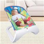 Cadeira de Descanso Musical Hi-tech Maxi Baby Até 11kgs Azul
