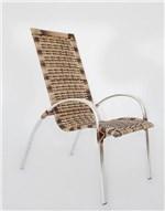 2 Cadeiras Garden em Alumínio - Trama Original