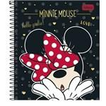 Caderno Colegial 10x1 160f CD 232165 Minnie Tilibra